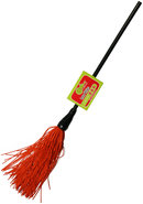 Whip Smart Duster Whip 12 Inch Fire Red