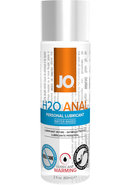 Jo H2o Warming Anal Water Based Lubricant 2.5 Ounce