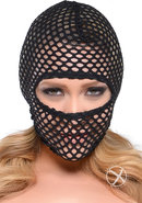 Fetish Fantasy Series Fishnet Hood Black