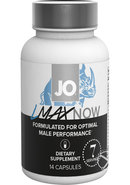Jo Lmax Now Male Performance Dietary Supplement 14 Capsules...